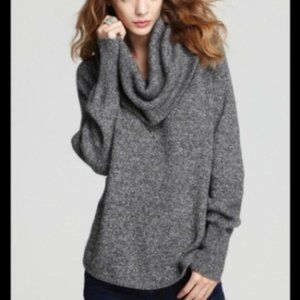 Joie Wesley Marble Cowl Neck Sweater, Size S